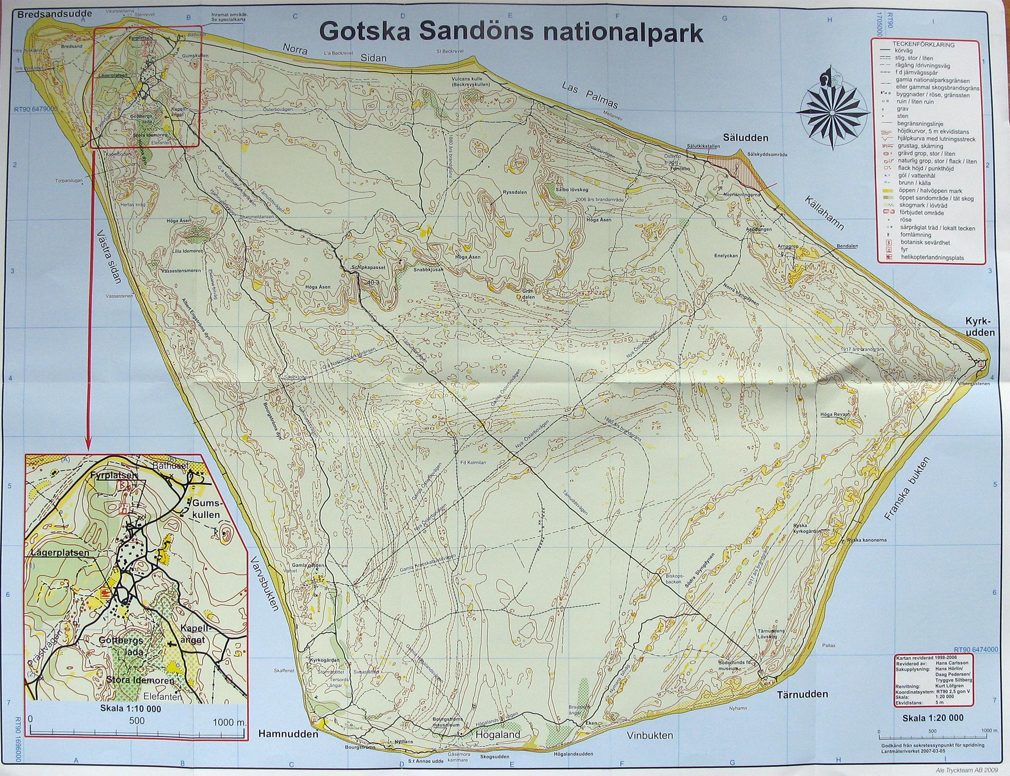 gotska sandön karta Gotska Sandön   Forum gotska sandön karta